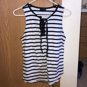 Striped nautical tank top from The Limited